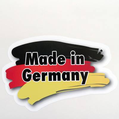 Aufkleber drucken bei Button-King Made in Germany