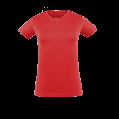 Damen T-Shirt rot bedrucken