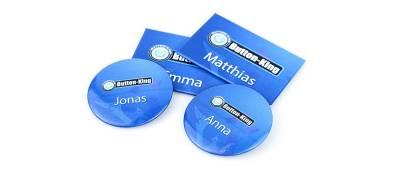 Buttons konfektionieren