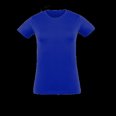 Herren T-Shirt blau bedrucken