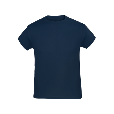 Kinder T-Shirt navy bedrucken