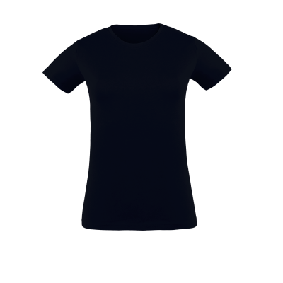 Damen T-Shirt Navy bedrucken