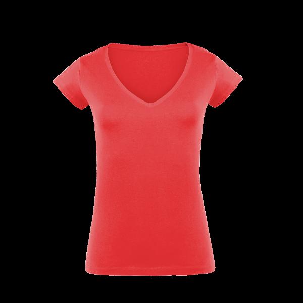 7cc4abc43a4c0f Damen T-Shirts mit V-Ausschnitt bedrucken