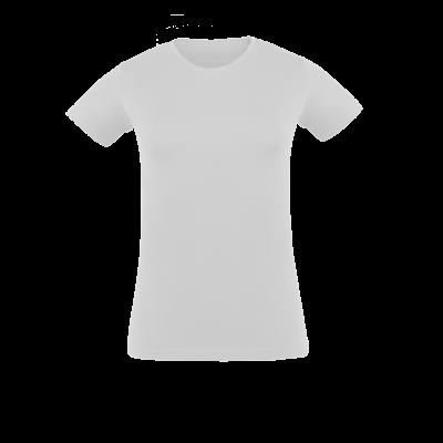 Damen T-Shirt weiß bedrucken