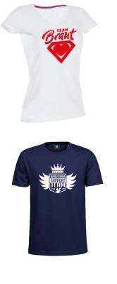 JGA T-Shirt bedrucken Team Braut