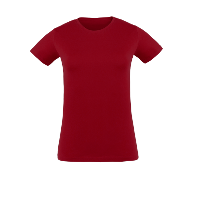 Damen T-Shirt berry bedrucken